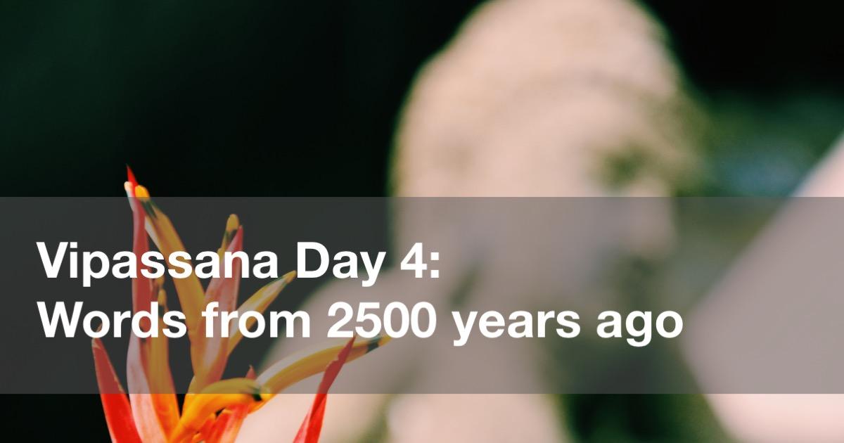 Vipassana Day 4 in Yangon Burma (Rangoon, Myanmar)