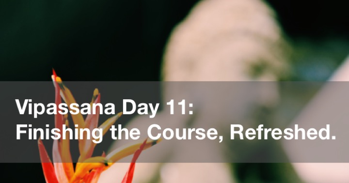 Vipassana Day 11 in Yangon Burma (Rangoon, Myanmar)
